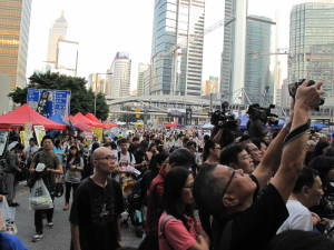 Accreditation of journalists in Hong Kong