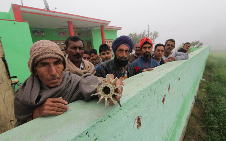 Israel Nuclear Weapons >> Pressenza - Jammu-Kashmir: firing violations all night