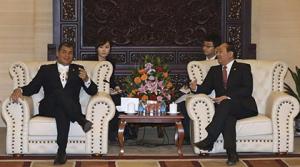 China invertirá $ 5296 millones en Ecuador