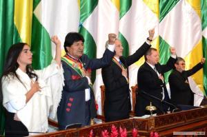 Garcia Linera: il socialismo è il potenziamento del sistema comunitario in espansione
