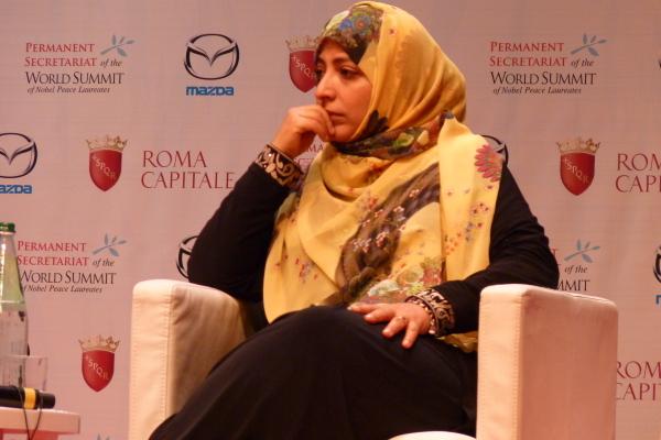 Yemen: Karman, Premio Nobel de la Paz, dice no al glope de estado