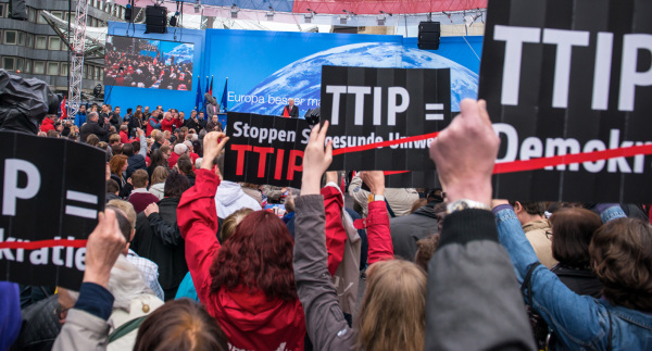 Good news: the Stop TTIP a campaign marches on