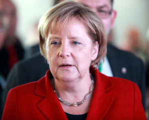 German chancellor says peace in Ukraine brings peace to Europe