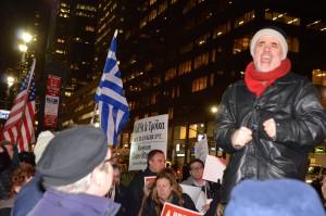 #GreeceSolidarity a New York
