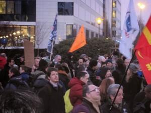 Soutien au peuple grec depuis Bruxelles : «Notre arme est la solidarité»