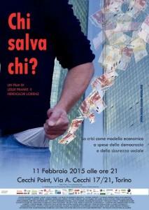 """Torino, prima europea del film """"Chi salva chi"""""""