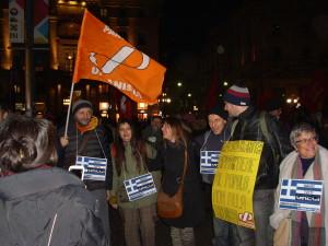 Siamo tutti greci! Presidio di Milano
