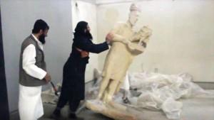 Los estragos en el Museo de Mosul son una tragedia cultural