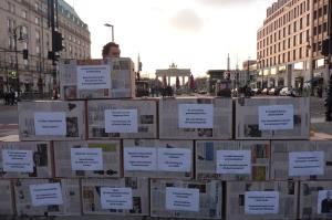 """""""Der Frühling kommt – Orban geht"""" Solidaritätsdemonstration in Berlin"""