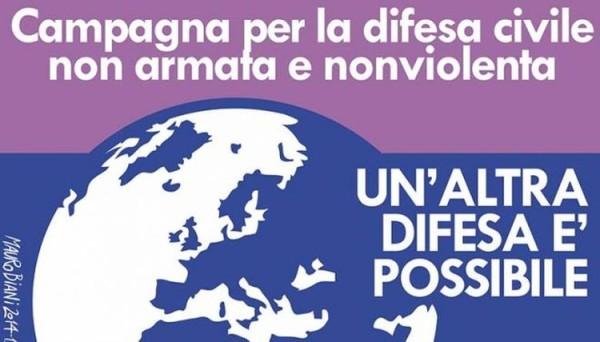 La difesa nonviolenta entra in Parlamento