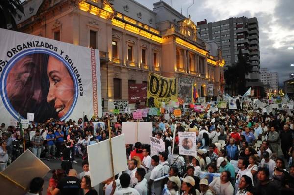 Más de 60 mil personas dijeron «Hoy somos todos Cristina» en Jujuy