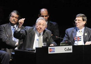 Cuban President Raul Castro Ruz at CELAC Summit
