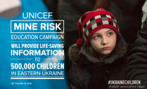 Children Killed and Injured by Land-mines, Unexploded Ordnance in Eastern Ukraine