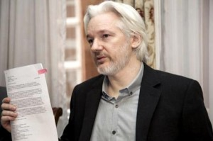 "Julian Assange praised ""the very good reform"" of the Argentine intelligence service"