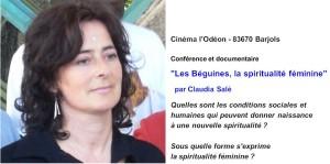Le 8 mars 2015, le FemmEstival, bien inspiré, a accueilli pour une conférence : « Les Béguines, la spiritualité féminine »