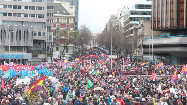 Fotos marchas de la dignidad 2015