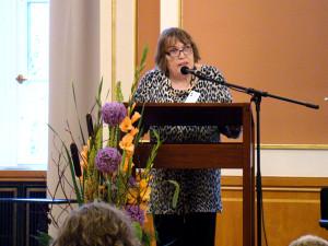 Ehrung von Maria Augstein für ihr Engagement für Homo- und Transsexuelle