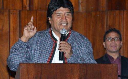 Evo Morales: siamo una minaccia per il capitalismo