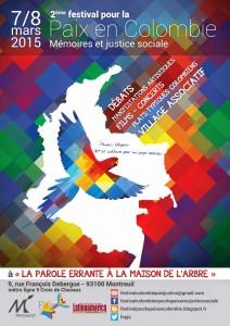 2ème Festival pour la paix en Colombie à Montreuil