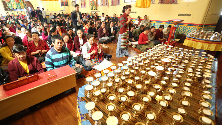 Prayer Service in New York for Earthquake Victims in Nepal