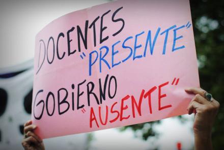 Colombia: Maestros realizan paro nacional indefinido y denuncian incumplimiento del Gobierno