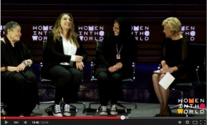Israeli Robi Damelin and Palestinian Bushra Awad talk about finding humanity in the enemy