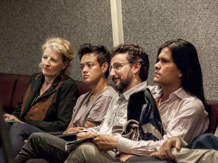 Panel Pressenza Senado 11