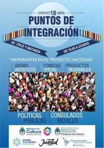 La Secretaría de Derechos Humanos invita al festival «Puntos de integración»