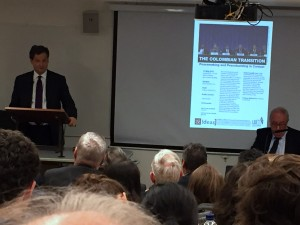 Presentation of the Colombian Peace Process at the London School of Economics