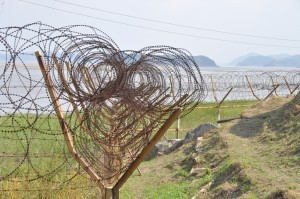 South Korea lowers combat readiness at border with North