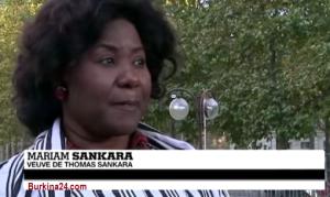 Fiesta popular en Burkina Faso con la vuelta de la viuda de Thomas Sankara