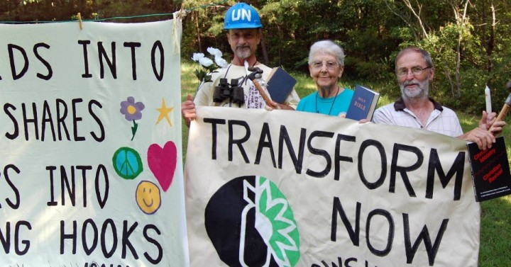 Transform Now Plowshares activists freed