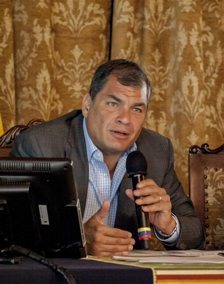 Correa: necessario cambiare i rapporti di forza