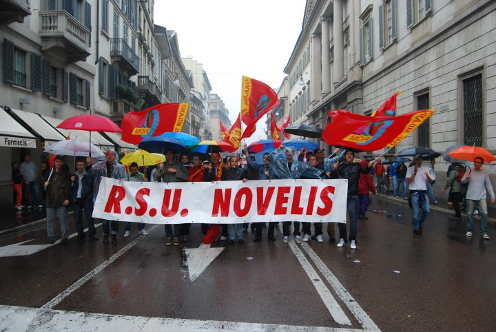 Ritirato il licenziamento del delegato Fiom alla Novelis