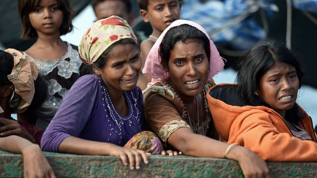 "I Rohingya rifiutano la ""carta verde"""