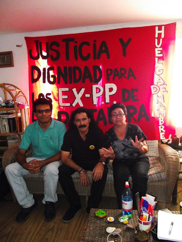 Hunger strike by ex-political prisoner of military dictatorship in Chile