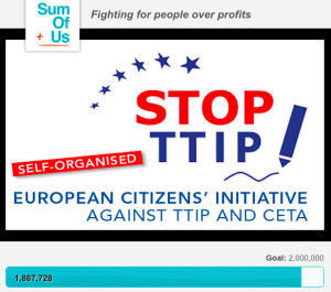 Activists vs Lobbyists sending TTP-TTIP down the drain