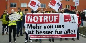 Die Pflege wehrt sich: Streik an der Charité