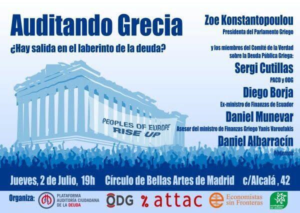 Auditando Grecia