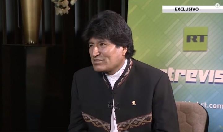 Evo Morales: Europa, macht euch frei von US-Einfluss und IWF-Diktat