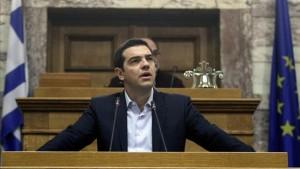Tsipras: «Ante este ultimátum y chantaje, os convoco para que decidáis de forma soberana»