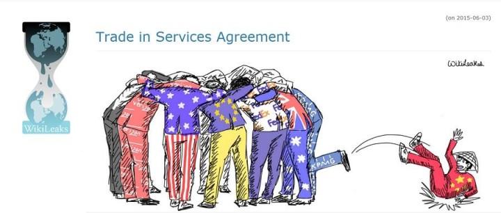 50 países costuram tratado ainda mais antidemocrático e neoliberal que o TTIP