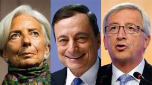 Per strangolare la Grecia, un'Europa tra virgolette