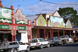 Nimbin, la capitale australienne du cannabis, est avant tout une ville écolo