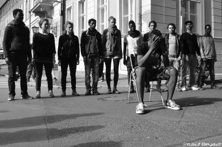 Rifugiati a Berlino: non si può immaginare la città senza di loro
