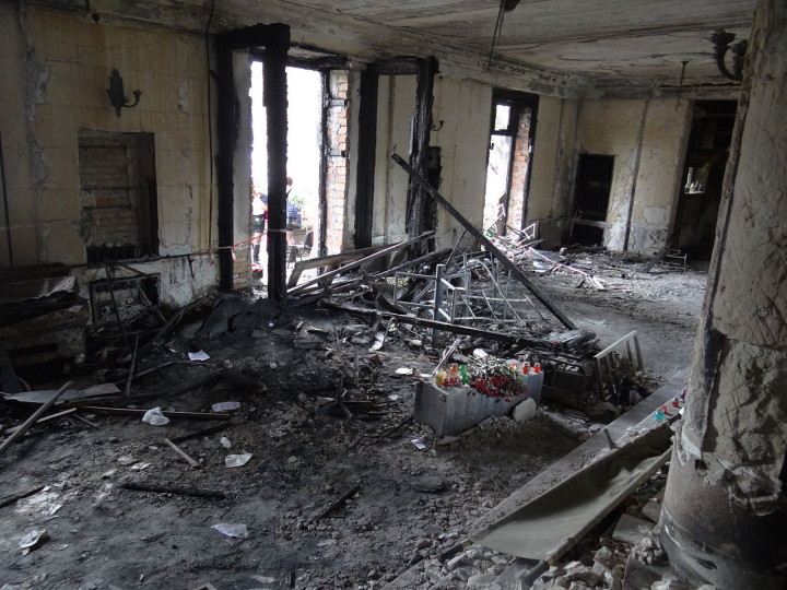 Interview mit Zeugen des Anschlages auf das Gewerkschaftshaus in Odessa