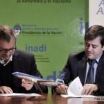 Aerolíneas assinou acordo com Inadi para combater a discriminação e o racismo no transporte aéreo