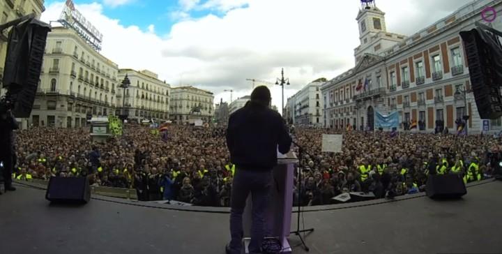 Pablo Iglesias erklärt 2015 zum Jahr der Veränderung für Europa