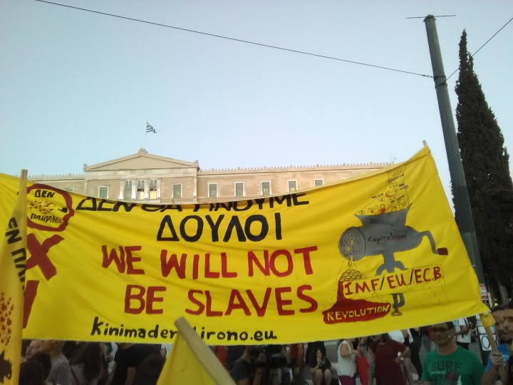 Reflections from Greece: Hope flew away*