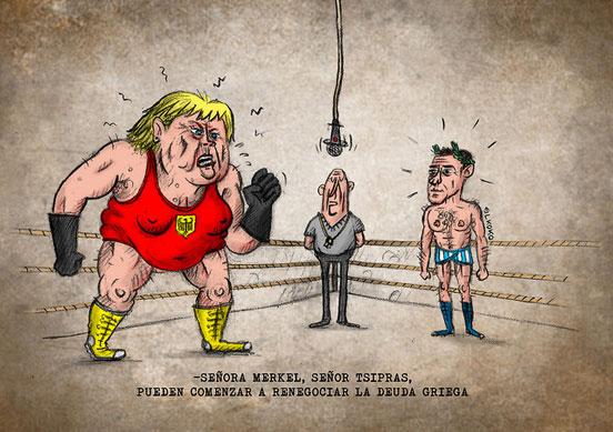Tsipras n'avait pas de plan B, Merkel en avait deux